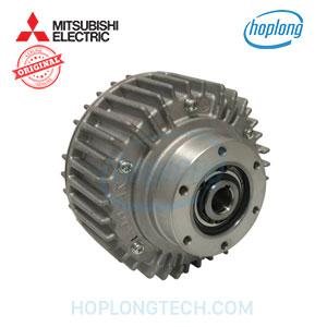 Hollow shaft powder clutch
