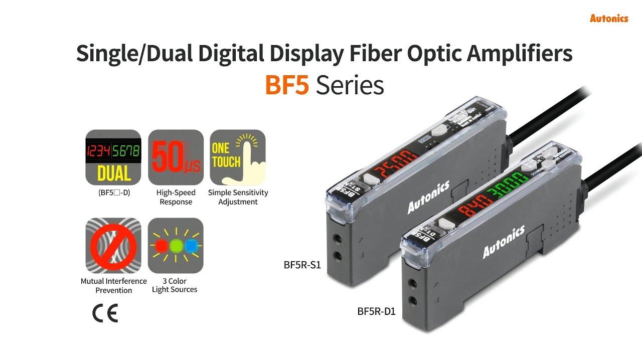 Ưu điểm của bộ khuếch đại sợi quang BF5 Autonics