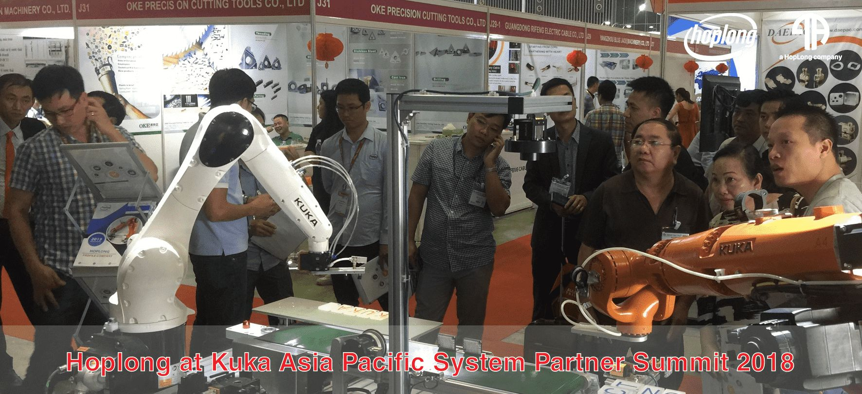 Hoplong at Kuka Asia Pacific System Partner Summit 2018