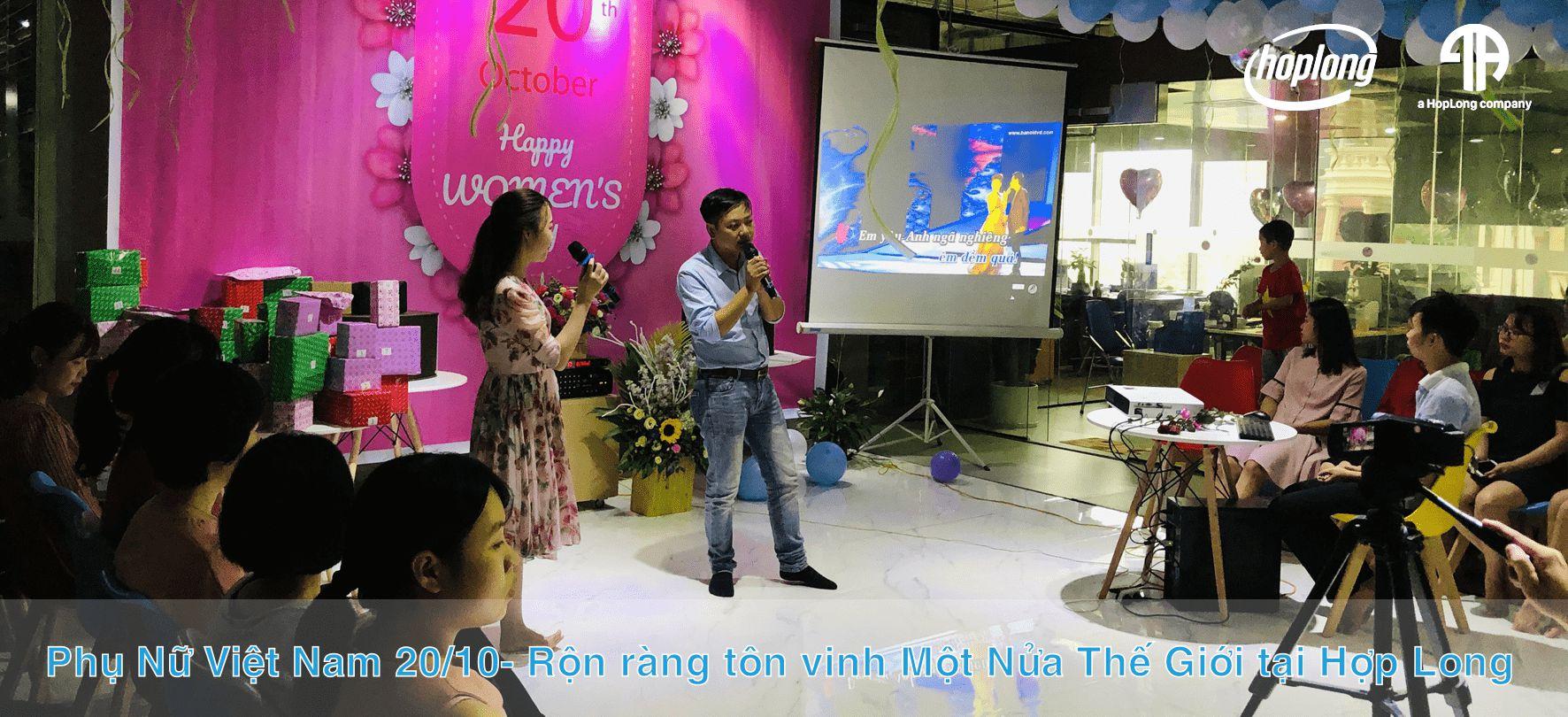 Phụ Nữ Việt Nam 20/10- Rộn ràng tôn vinh Một Nửa Thế Giới tại Hợp Long