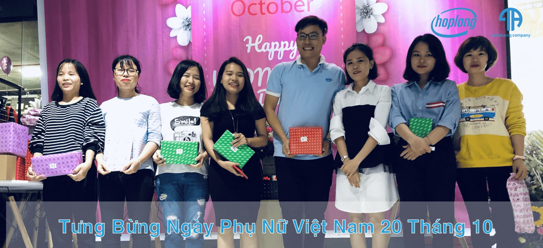 Tưng Bừng Ngày Phụ Nữ Việt Nam 20 Tháng 10