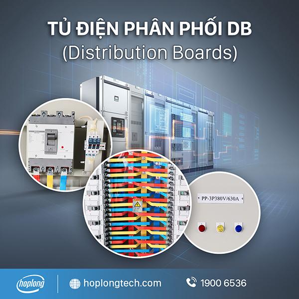 Tủ điện phân phối DB (Distribution Boards) - HopLongTech