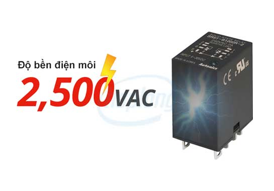 SRS1 có độ bền điện môi 2500VAC